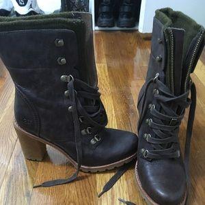 High heel ugg boots